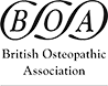 British Osteopathic Association BLACK